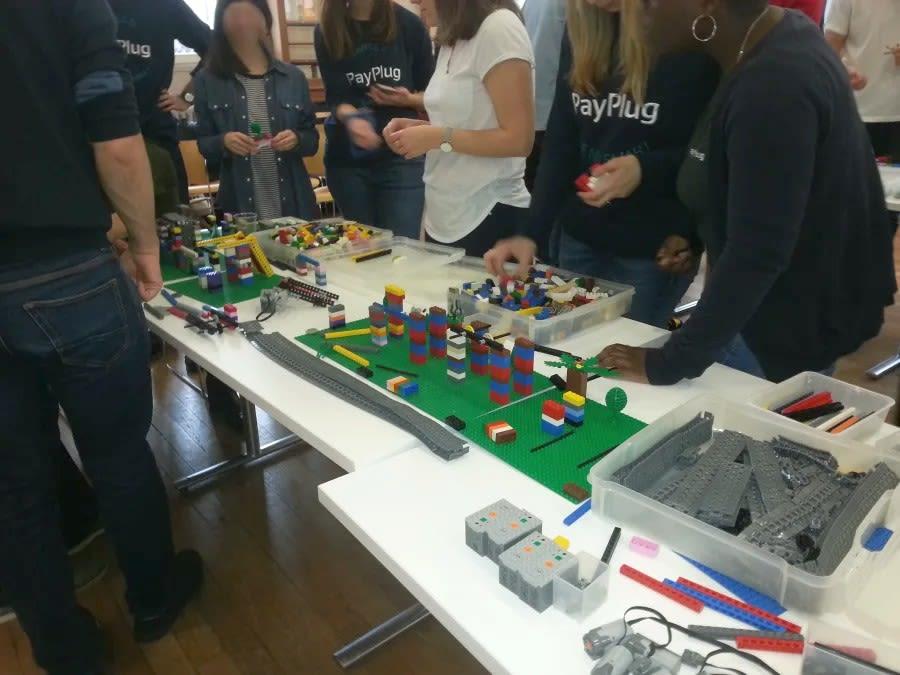 Team Building Construction de LEGO® en Ile-de-France