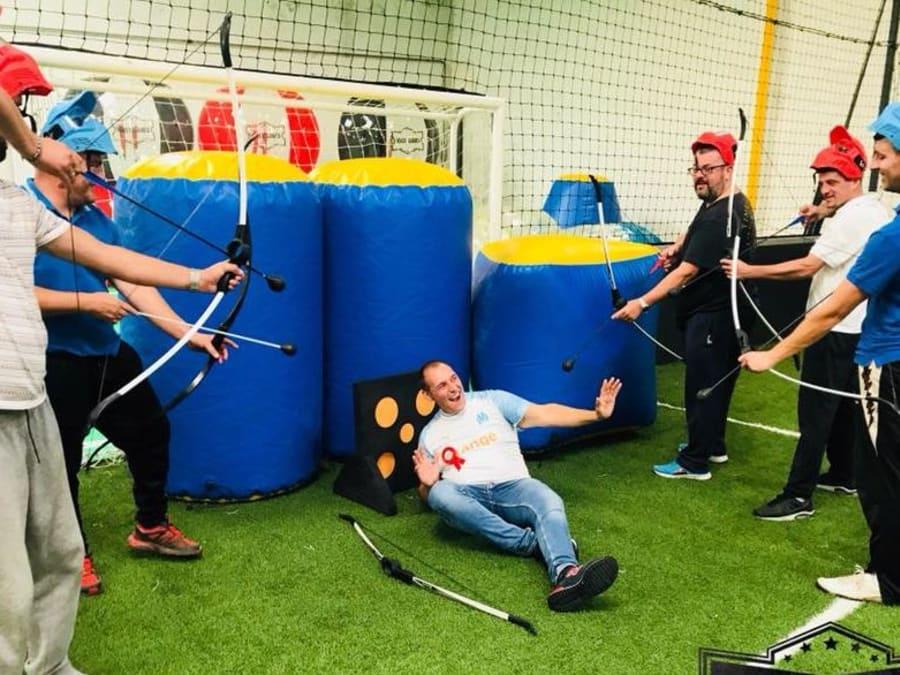 Archery Tag à Friville-Escarbotin ou à domicile