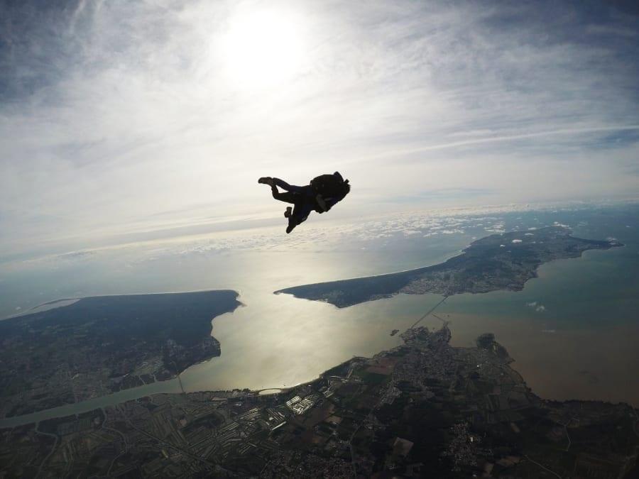 Saut en parachute en tandem au-dessus de l'Île d'Oléron (17)