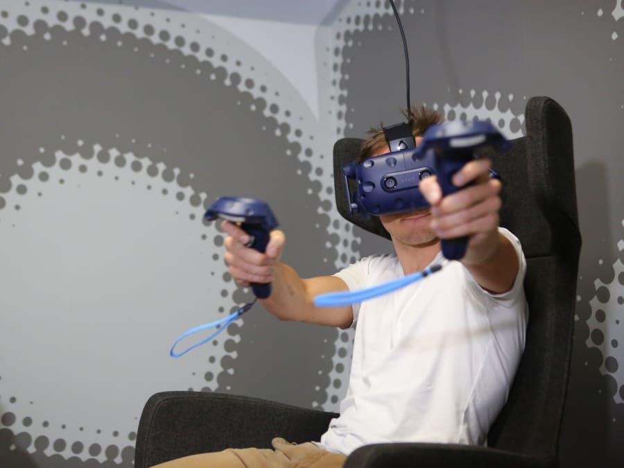 Expérience de Réalité Virtuelle à Paris 11ème
