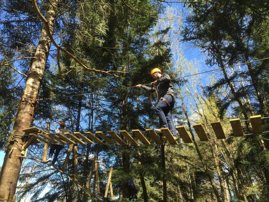 Parc aventure Accrobranche dans les Gorges de l'Aveyron (12)