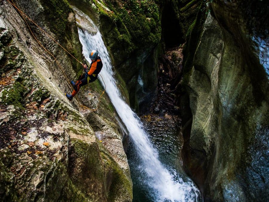 Canyoning du Furon Haut proche Grenoble (38)