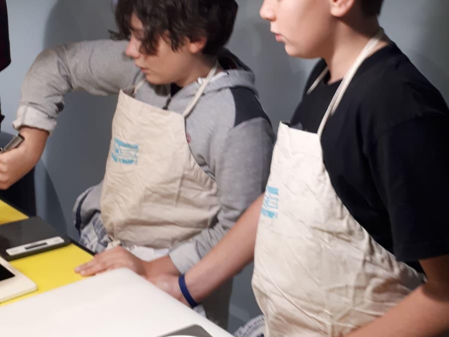 Stage vacances de cuisine Bio Enfant à Paris 11ème