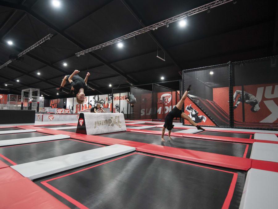 Anniversaire Trampoline Park Jump XL à Nantes
