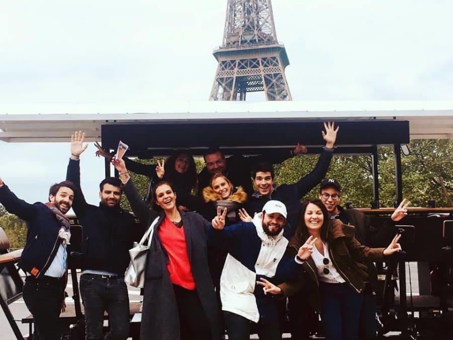 Visite de Paris à Vélo Entre Amis