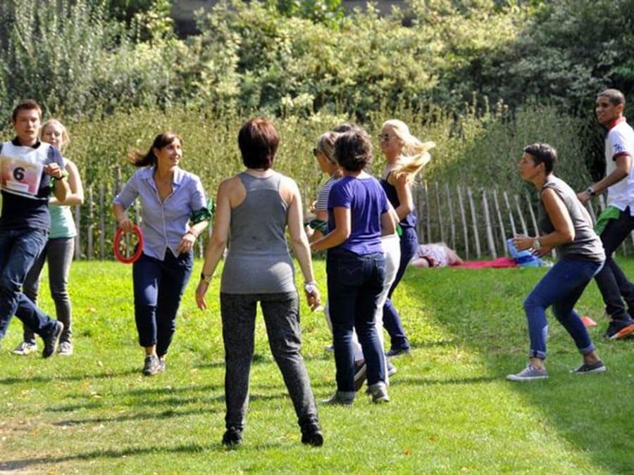 Team Building Les zOlympiades dans un parc à Paris