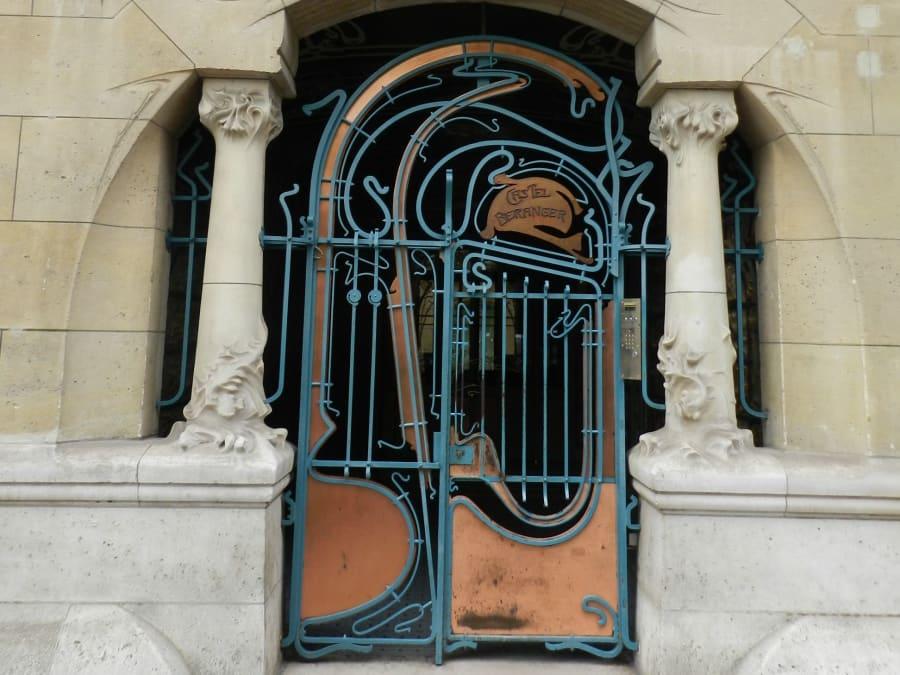 Visite sur les traces d'Hector Guimard et de l'Art Nouveau (75)