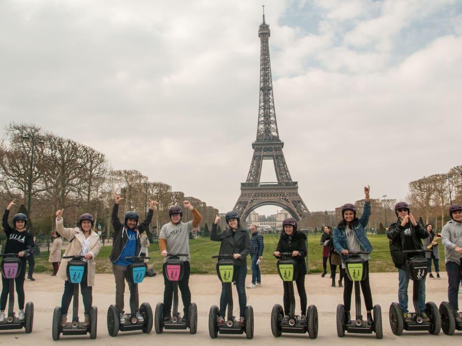 Segway Tour à la découverte de Paris