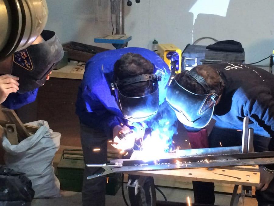 Atelier d'initiation à la soudure à l'arc à Paris 18ème