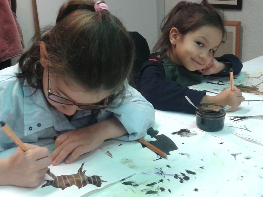 Anniversaire dessin & peinture dès 6 ans à Grenoble (38)