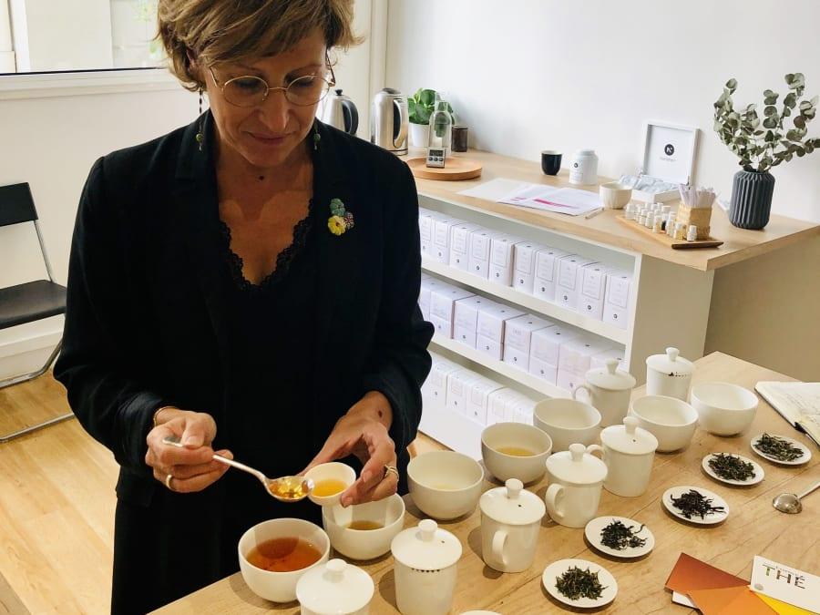 Découverte et apprentissage du Thé à Paris 8ème