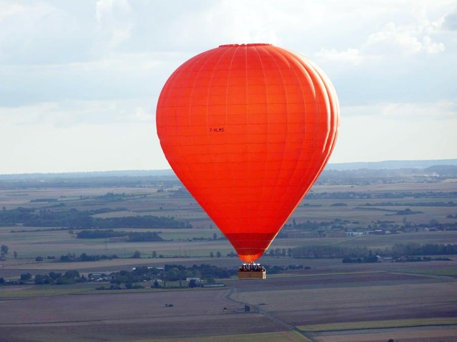 Vol en Montgolfière depuis le Haut-Poitou (Vienne, 86)
