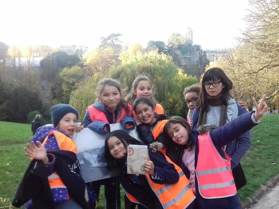 Anniversaire Jeu de Piste Culturel 7-11 ans aux Buttes-Chaumont