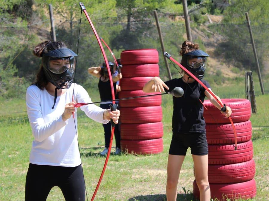 Archery Tag proche de Sète (Hérault, 34)