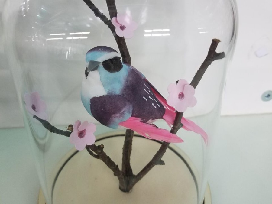 Atelier création d'une cloche aux oiseaux, Truffaut Plaisir (78)