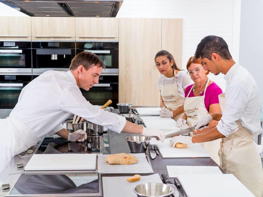 """Atelier de cuisine """"Tradition"""" à l'Ecole de cuisine Ducasse"""