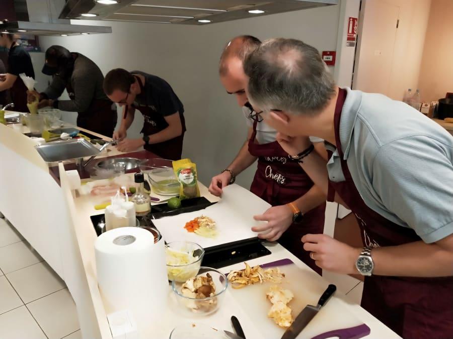 Team Building Cuisine : C'est qui le Chef ? C'est l'équipe !