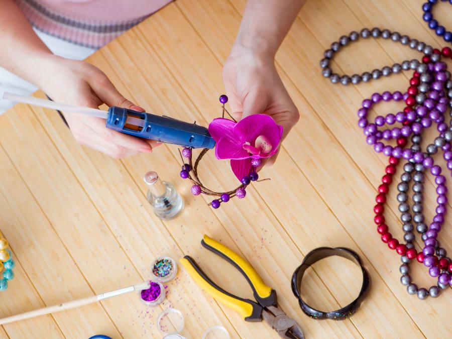Atelier création de bijoux Parent/Enfant à Vaucresson