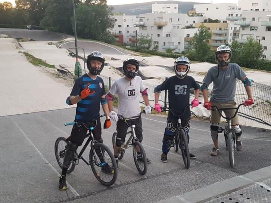 Session BMX à Annecy (74)