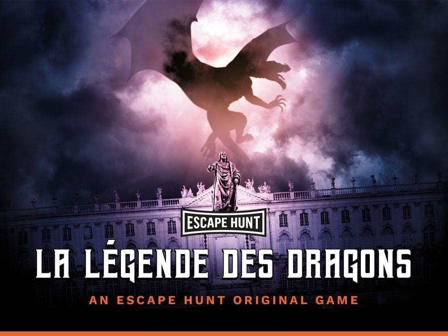 """Escape Game """"La Légende des Dragons"""" à Nancy (54)"""