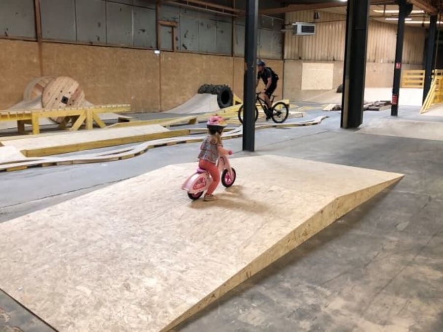 BMX & VTT indoor proche de Lyon (69)