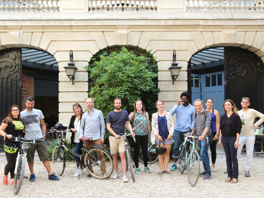 Team Building Visite Urbaine de Paris à vélo