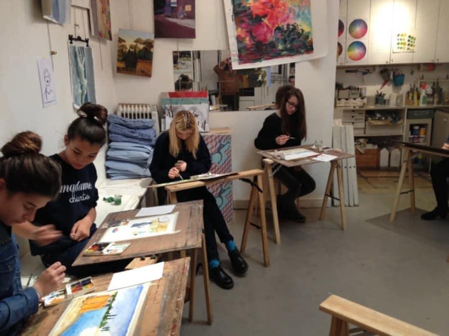 Anniversaire Peinture 5-15 ans à Paris 17ème
