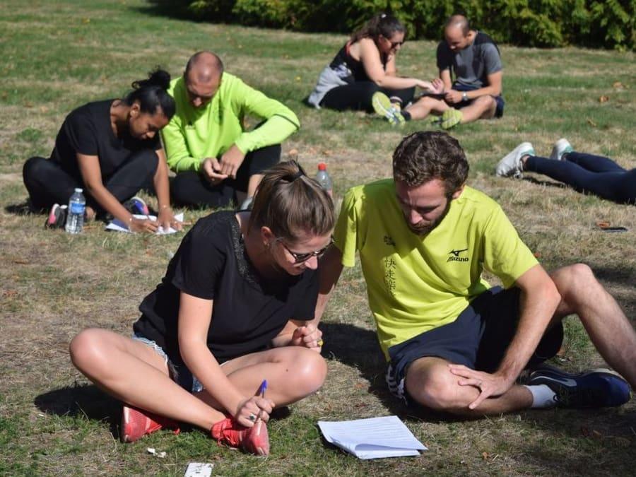 Team Building Olympiade dans un parc à Paris