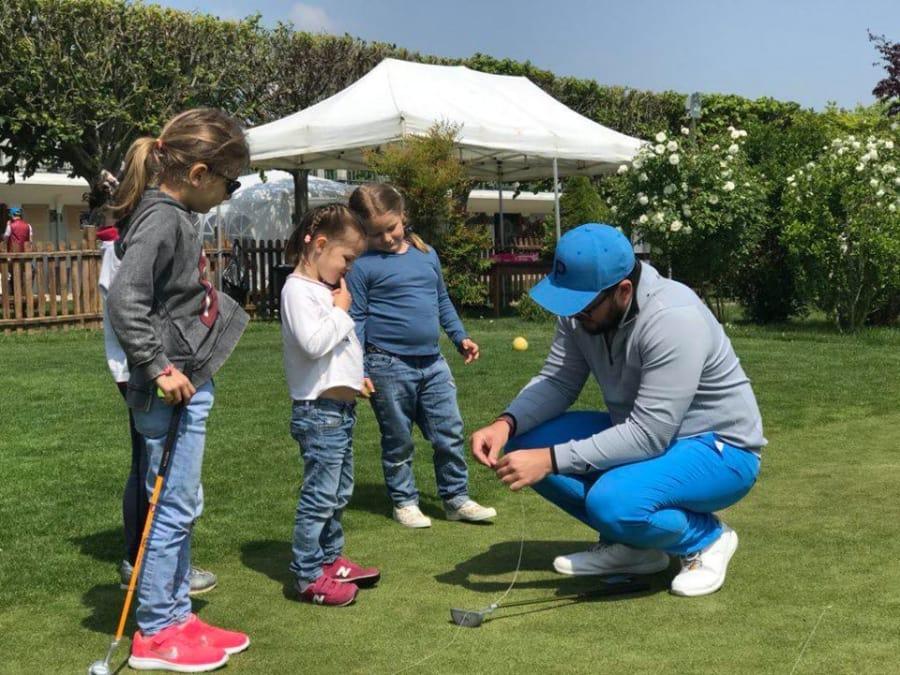 Anniversaire Golf 7-15 ans au Bois du Boulogne à Paris 16ème