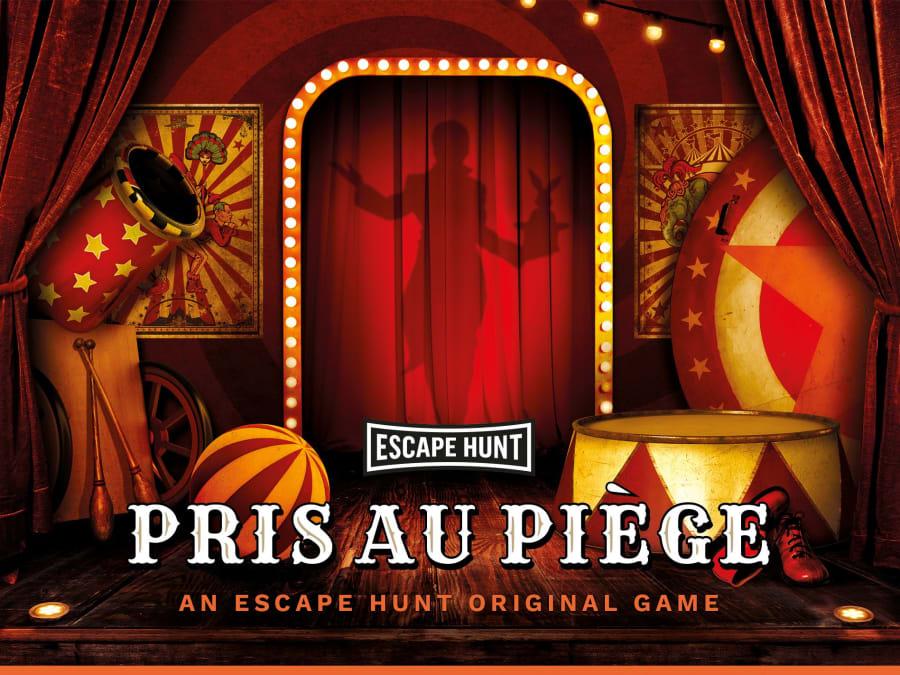 "Escape Game ""Pris au Piège"" proche de Marseille"