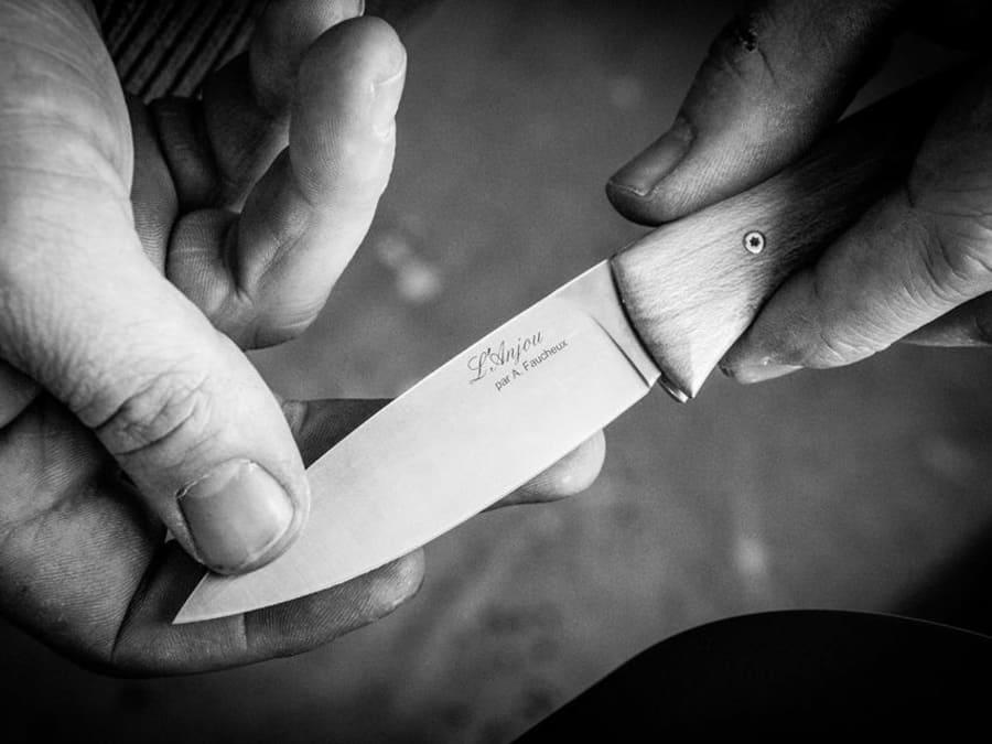 Atelier de fabrication de couteau pliant (1 journée)