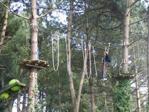 Forêt Adrénaline - Parc des Gayeulles