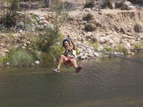 Parc acrobatique forestier de la Solenzara