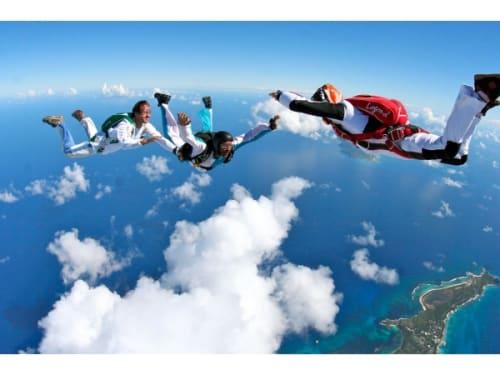 Saut en parachute proche de Marseille : Site le Luc