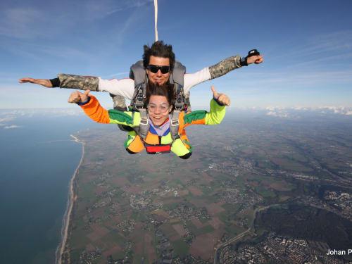 Abeille Parachutisme Honfleur Deauville Trouville Etretat