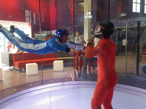Chute libre indoor à Lyon : Ifly Lyon