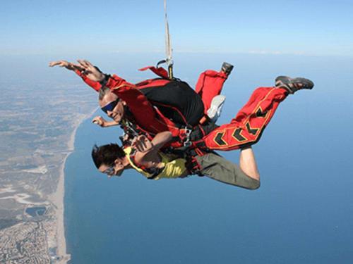 Saut en parachute à Lézignan-Corbières : Chute xtrem