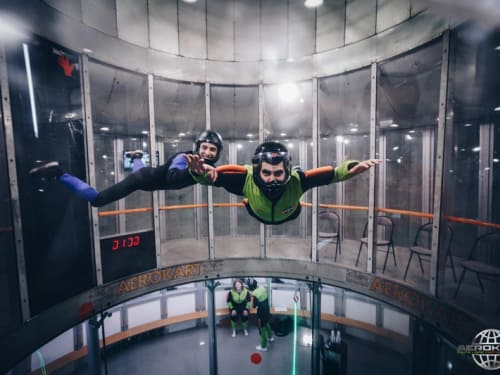 Chute libre Indoor Argenteuil : Aerokart