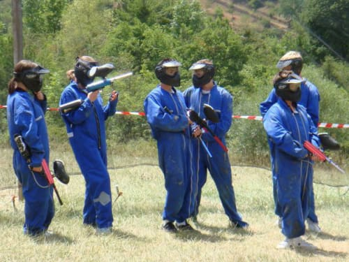 PAINT-BALL ISPAGNAC