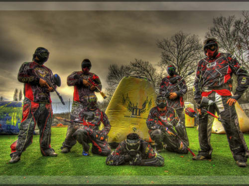 Paintball Nature Lyon