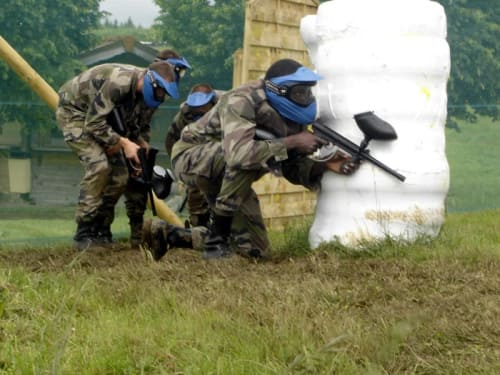 Paintball de l'enclos