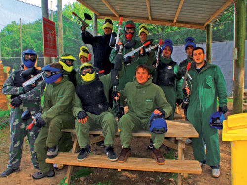 Paint Ball Fury