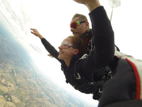 Saut en parachute en Rhônes Alpes : FL140 Parachutisme