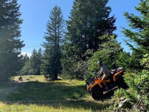 Randonnée en motoneige à Chamrousse : GTR Mountain