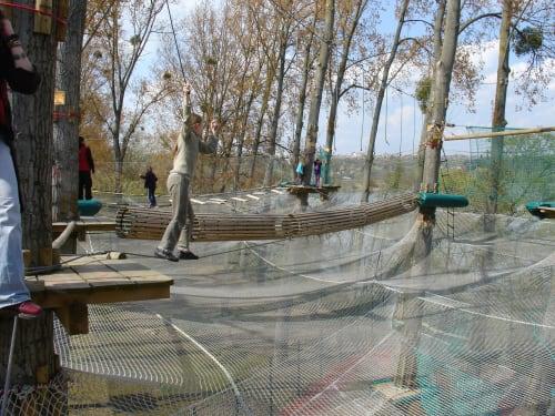 Parcours Accrospeeder Géant à Cergy – Xtrem Aventure