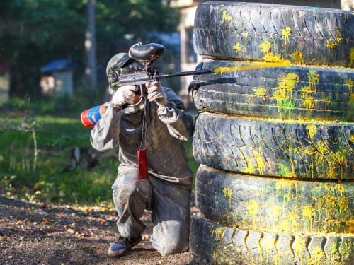 Panda paintball parc