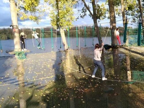 Parcours Accrospeeder Géant à Cergy - Xtrem Aventure