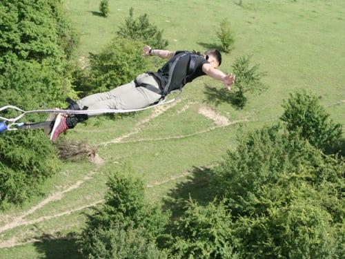 Adrenaline Elastique au Viaduc d'Exermont