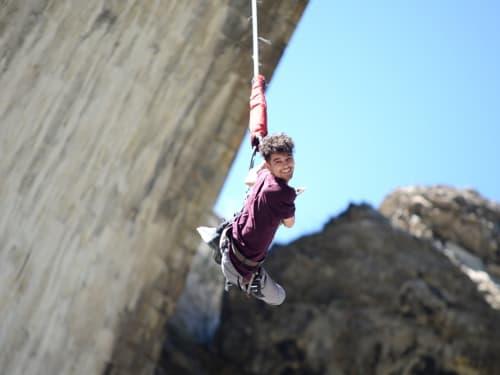 Saut à l'élastique au Pont d'Asfeld : Adrenaline Bungee