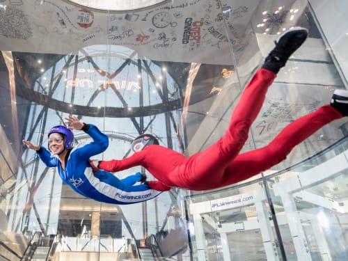 iFly Paris – Simulateur du saut en parachute à Paris